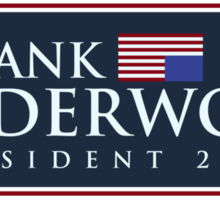 Frank Underwood Sticker