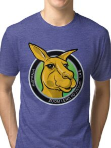 Kangaroo Lens Tri-blend T-Shirt