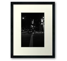 Christmas Night My Street Framed Print