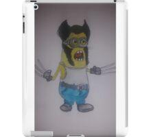 minion wolverine iPad Case/Skin