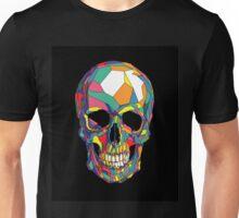 Colourful Geometric Skull Unisex T-Shirt