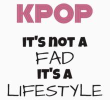 Kpop Is Lifestyle - TEAL Kids Tee