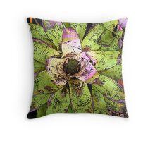 Flowering fantasies Throw Pillow