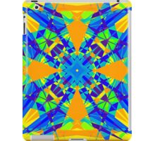 Caleidoscopical colors. CGI 2D iPad Case/Skin