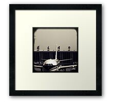 OLD SHANGHAI - Pudong International Framed Print