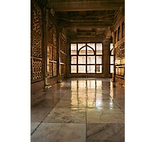 Marble art to Agra Photographic Print