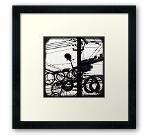 OLD SHANGHAI - High Speed Development Framed Print