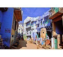 Street of Jodpur Photographic Print