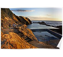 Bermagui Blue Pool Poster