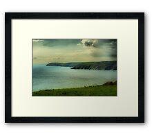 Mevagissey Coastline Framed Print