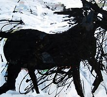 Black Horse 12 by John Douglas