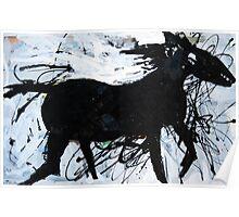 Black Horse 12 Poster