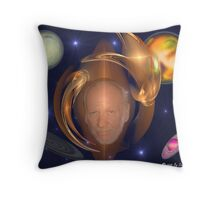 Head of Interplanetary Research Throw Pillow