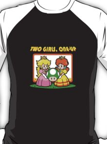 Two Girls One Up T-Shirt