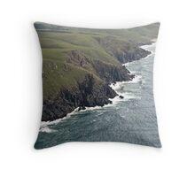 Wild Coast, Transkei, RSA Throw Pillow