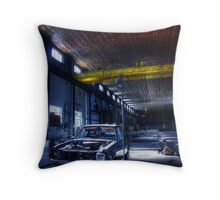 The Workshop One Throw Pillow