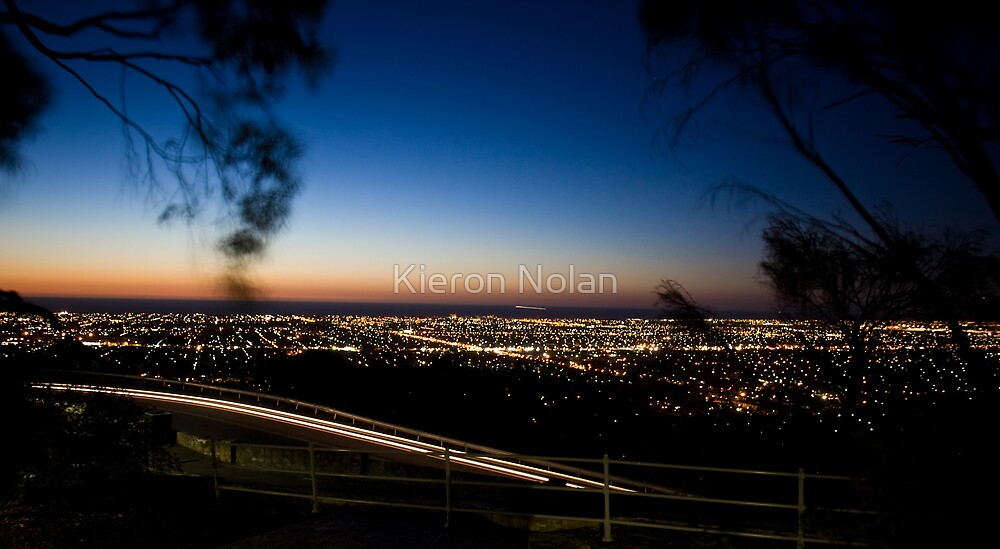 Windy Point night shot by Kieron Nolan