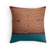 Art Deco Design Throw Pillow