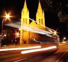 St Peters Cathedral by Mel Sarovic