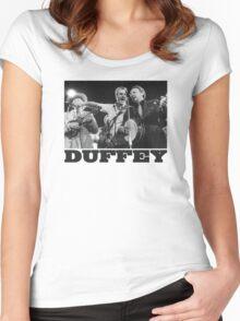 The Seldom Scene - John Duffey - Bluegrass Women's Fitted Scoop T-Shirt