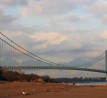verrazano bridge by marianne troia