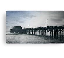 Newport Beach, Californ-i-a Canvas Print