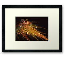 A splash of light Framed Print