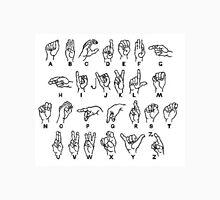 sign language Men's Baseball ¾ T-Shirt