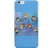 Avengers chibis iPhone Case/Skin