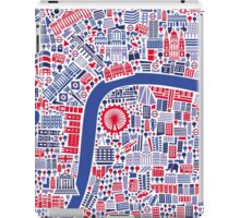 London City Map Poster iPad Case/Skin