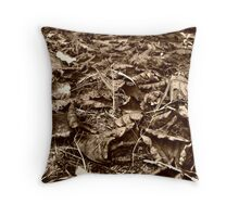 End of a year Throw Pillow
