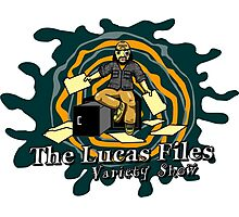 The Lucas Files Show Logo Photographic Print