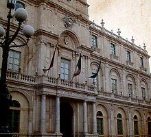 Catania University palace by Andrea Rapisarda