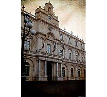 Catania University palace Photographic Print
