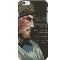 Iron Grows Anew iPhone Case/Skin