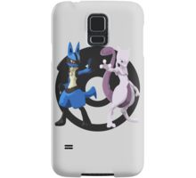 Lucario and Mewtwo Samsung Galaxy Case/Skin