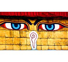 Buddha eyes Photographic Print