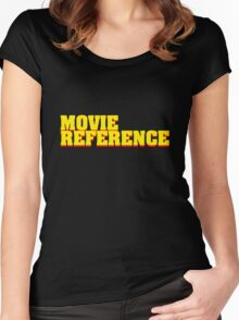 Movie Reference - Pulp Fiction Women's Fitted Scoop T-Shirt