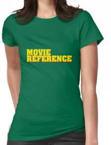 Movie Reference - Pulp Fiction Womens Fitted T-Shirt