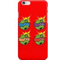 Teenage Mutant Ninja Turtles - The Hundreds iPhone Case/Skin