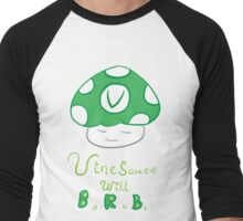Vinesauce Shroom~ Men's Baseball ¾ T-Shirt