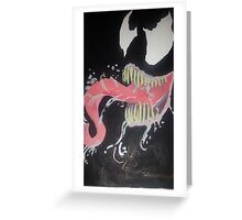 venom Greeting Card
