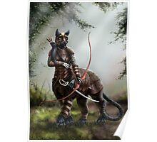 The Huntress - Felitaur Archer Poster