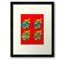 Teenage Mutant Ninja Turtles - The Hundreds Framed Print