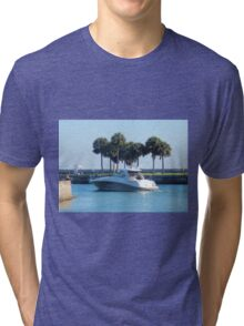 Sunday Afternoon on the Gulf Tri-blend T-Shirt