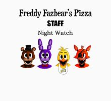 Freddy Fazbear's Pizza Staff - Night Watch Unisex T-Shirt