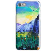 Yosemite Valley - Tunnel View iPhone Case/Skin