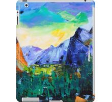 Yosemite Valley - Tunnel View iPad Case/Skin