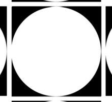 circle squared  Sticker