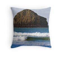 Gull Rock Throw Pillow